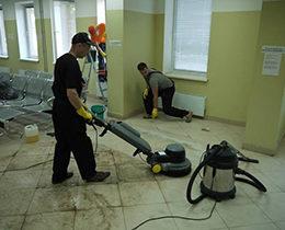 Уборка офиса после ремонта в Москве от компании Педант