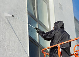 Профессиональный клининг - мойка и чистка фасадов промышленными альпинистами от ООО Педант