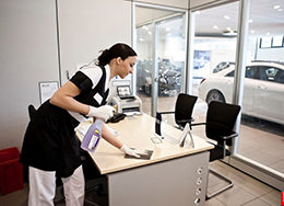 Услуги по уборке офисных помещений на постоянной основе от компании Педант