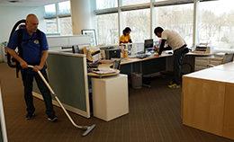 Уборка офиса после ремонта от компании Педант