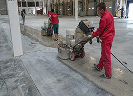 Услуги по шлифованию бетона в Москве от ООО Педант