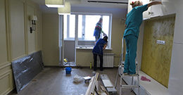 Уборка после ремонта и услуги по уборке офисов и помещений после капитального ремонта