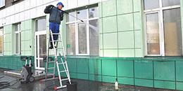 Мойка фасадов от ООО Педант